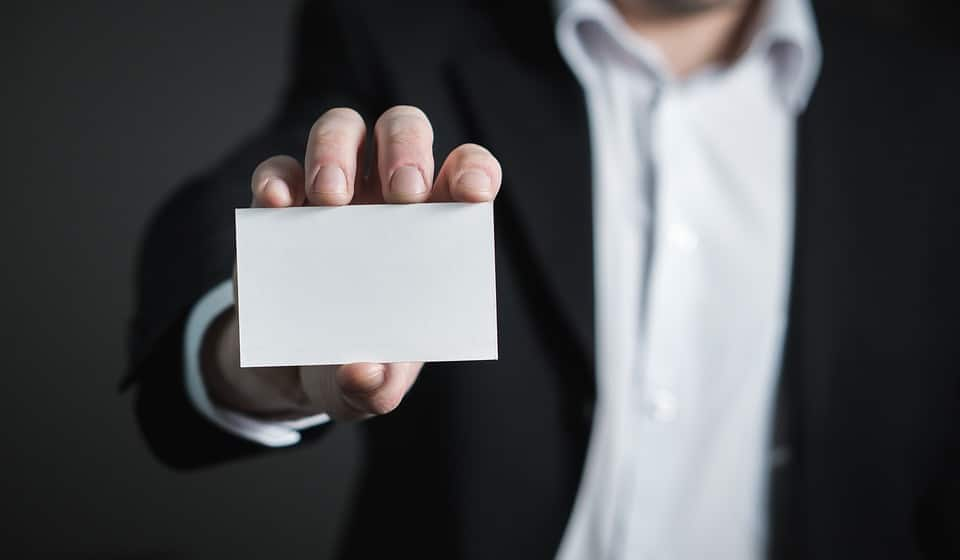 The 6 Rules of an Effective Business Card